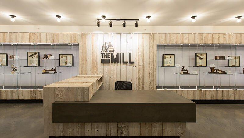 The Mill lobby