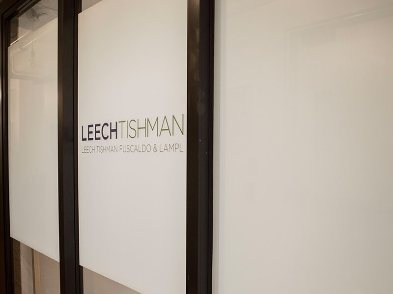 Leech Tishman office at The Mill