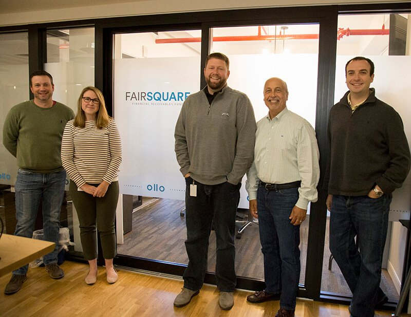 Fair Square Financial employees at The Mill